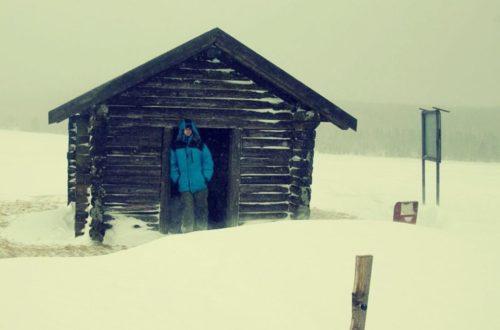 Na panenských sněžnicích k přehradě Fláje